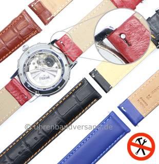 Schnellwechsel-Uhrenarmbänder \-EASY-CLICK\- in diversen Designs & Ausführungen - Produktbild