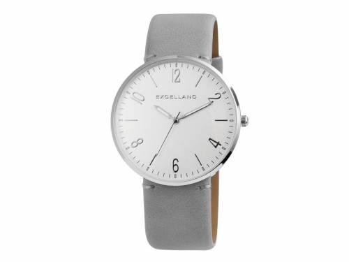 Armbanduhr klassisch Metall silberfarben Ziffernblatt silberfarben (*SH*AU*) - Bild vergrößern