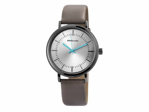 Armbanduhr Metall schwarz Ziffernblatt silberfarben (*SH*AU*) - Bild vergrößern