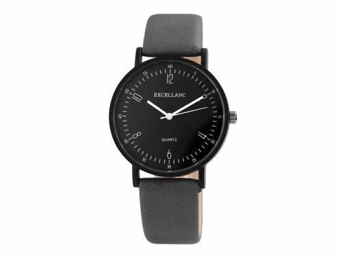 Armbanduhr Metall schwarz Ziffernblatt schwarz (*SH*AU*) - Bild vergrößern