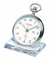 Taschenuhrenaufsteller Kunststoff transparent für 1 Taschenuhr