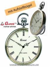Elegante Taschenuhr bicolor Ziffernblatt creme von Gardé (Ruhla) (*GD*TU*)