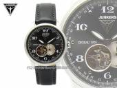 Automatik-Armbanduhr sportive Fliegeruhr Junkers 6360-2 Dessau 1926 Flatline Edelstahl satiniert (*JK*HU*)