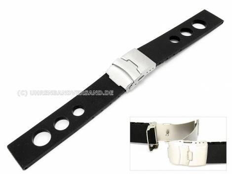 Racing-Uhrbänder Leder/ Kunststoff/ Textil mit unterschiedlichem Design - Bild vergrößern