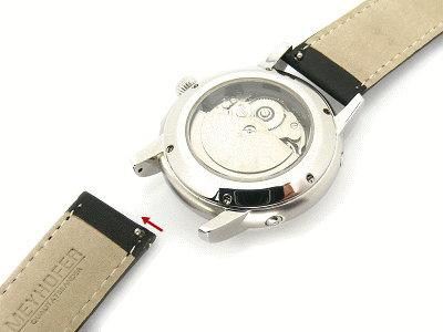 Uhrenarmband Meyhofer EASY-CLICK \