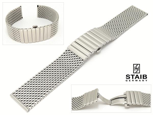panerai - Bracelet Milanais sur Panerai MD01STmilStahl