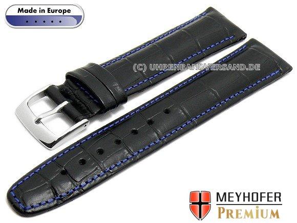 MyClassico-03: stilvolle Uhrenarmbänder mit Polsterung von Meyhofer in abwechslungsreichen Designs MADE IN EUROPE
