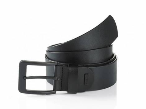 Jeansgürtel -Atlanta- schwarz von Monti - Bundlänge 110cm (Breite ca. 4cm) - Bild vergrößern