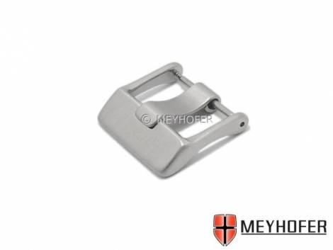 Breitdornschließe -Ellerbek- (MyCskbd-398st) 24mm Edelstahl fein gebürstet von MEYHOFER - Bild vergrößern