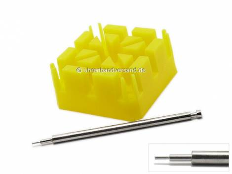 Stiftausschläger-Set zum Kürzen von Metallbändern - Bild vergrößern