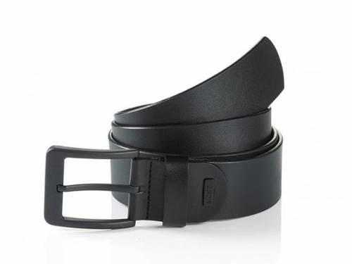 Jeansgürtel -Atlanta- schwarz von Monti - Größe 135 (Breite ca. 4 cm) - Bild vergrößern