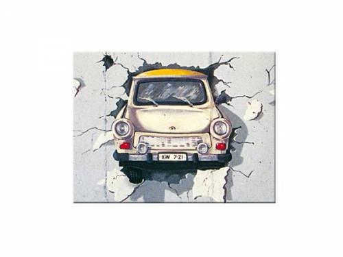 Deko-Magnet -Trabant - Wall- Retro-Style von Nostalgic-Art - Bild vergrößern