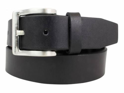Gürtel (extralang) aus Vollrindleder schwarz - Größe 160 (Breite 3 cm) - Bild vergrößern