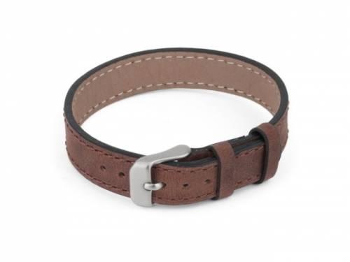 Schmuck-Armband Leder braun - Bandlänge bis ca. 21cm - Bild vergrößern