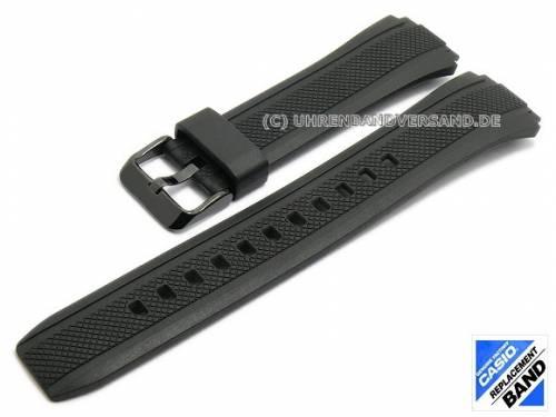 CASIO Ersatz-Uhrenarmband schwarz Kunststoff (10373319) Spezialanstoß für EF-552PB-1A2V, EF-552PB-1A4V - Bild vergrößern