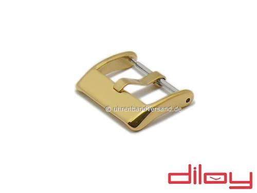 Breitdornschließe (DyBD-7820S) 24mm goldfarben Edelstahl poliert von DILOY - Bild vergrößern