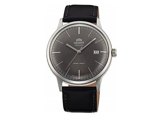 Automatik-Armbanduhr Edelstahl silberfarben Ziffernblatt anthrazit von ORIENT (*OR*AU*) - Produktbild