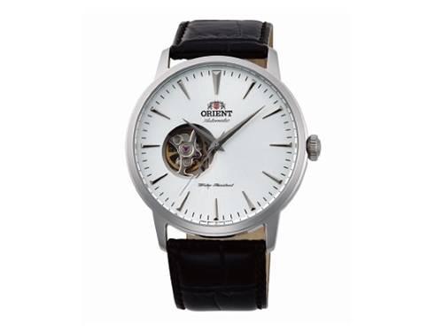 Automatik-Armbanduhr Edelstahl silberfarben Ziffernblatt silberfarben offene Unruh offene Unruh von ORIENT (*OR*AU*) - Produktbild