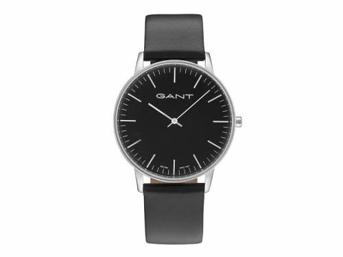 Armbanduhr -Denville- Edelstahl silberfarben Ziffernblatt schwarz von GANT (*GT*AU*) - Bild vergrößern