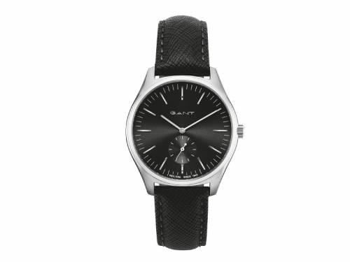 Armbanduhr -Sevenhill- Edelstahl silberfarben Ziffernblatt schwarz von GANT (*GT*AU*) - Bild vergrößern