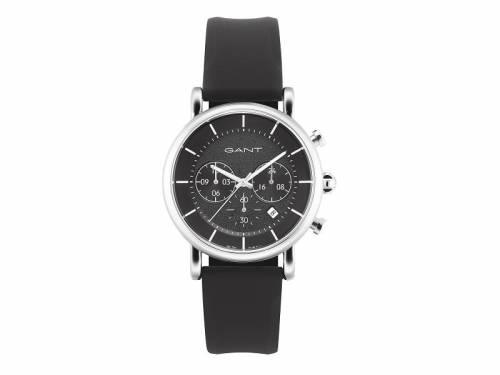 Chronograph -Springfield- Edelstahl silberfarben Ziffernblatt schwarz von GANT (*GT*HU*) - Bild vergrößern