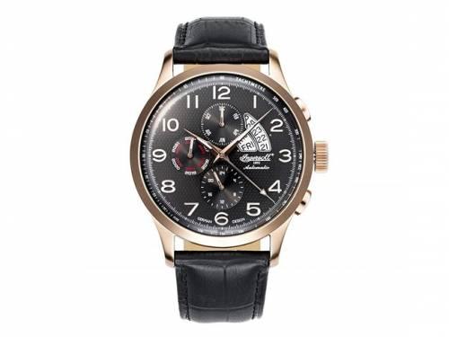 Automatik-Armbanduhr elegant roségoldfarben Ziffernblatt anthrazit von INGERSOLL (*IN*HU*) - Bild vergrößern