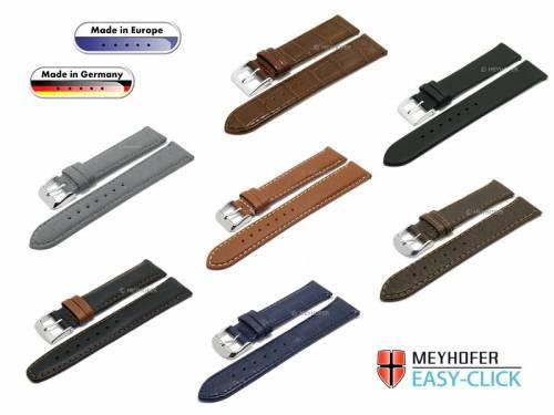 1 -b- Produkt-Tipp MADE IN GERMANY & EU: Premium-Uhrenbänder Meyhofer EASY-CLICK diverse Farben & Ausführungen 12-24mm - Bild vergrößern