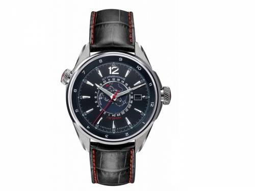 Automatik-Armbanduhr Gagarin Sports Edelstahl silberfarben Ziffernblatt schwarz/anthrazit  von STURMANSKIE (*ST*HU*) - Bild vergrößern