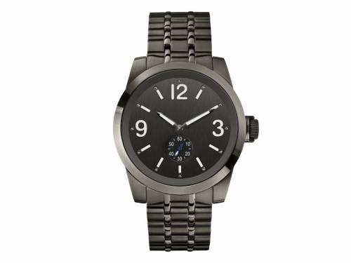 Armbanduhr -Zoom- Edelstahl schwarz Ziffernblatt anthrazit von GUESS (*GS*HU*) - Bild vergrößern