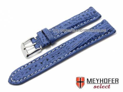 MyClassico-06: Uhrenarmbänder stark gepolstert in vielfältigen Ausführungen auch Vintage und Carbon-Look - Bild vergrößern