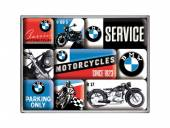 Deko-Magnet-Set 9teilig BMW - Motorcycles Retro-Style von Nostalgic-Art