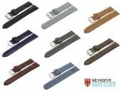 1 -c- Preistipp KLASSIK: Uhrenarmbänder Meyhofer EASY-CLICK diverse Farben & Ausführungen 12-24mm