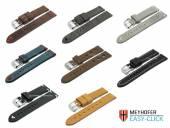 1 -c- Preistipp RUSTIKAL: Uhrenarmbänder Meyhofer EASY-CLICK diverse Farben & Ausführungen 18-24mm