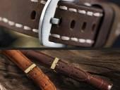 1 -a- Produkt-Tipp PREMIUM: Luxus-Uhrenarmbänder diverse Marken + Ausführungen aus Leder & mehr 12-24mm
