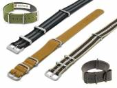 1 -e- Produkt-Tipp NATO-STRAPS: Uhrenarmbänder im NATO-Style diverse Materialien & Farben 18-24mm