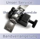 Service: Verlängerung von Metall-Uhrenarmbändern (Gliederbänder)