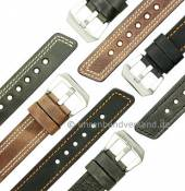 MyRustico-01: rustikale Uhrenarmbänder von Meyhofer in robuster Ausführung MADE IN GERMANY