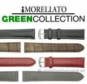 Ökologische Uhrenarmbänder in Lederoptik aus synthetischen Materialien in diversen Ausführungen aus der GREEN COLLECTION