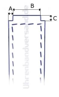 CASIO Ersatz-Uhrenarmband schwarz Kunststoff (10373319) Spezialanstoß für EF-552PB-1A2V, EF-552PB-1A4V