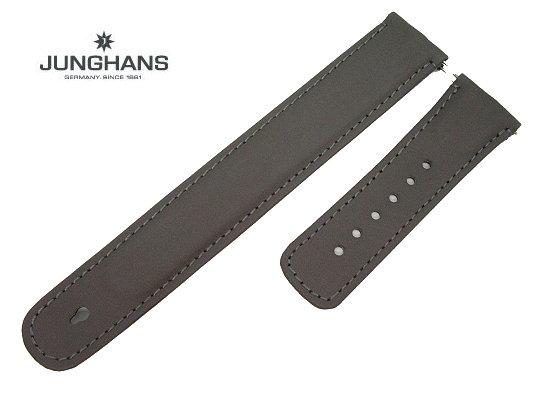 Ersatzband Junghans 22mm Grau Leder Glatt 021 4320 021 4310 021 4330