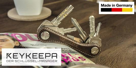 versch KEYKEEPA Schlüssel-Organizer Modelle Schlüsselmanager Leder Metall