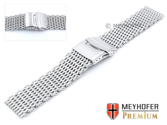 22 mm Uhrenarmband 100 /% Handarbeit Armband Kalb Molberg Weiß-Creme NEU!