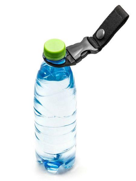 Flaschenhalter-Set Nylon schwarz und oliv passend für Gürtelbreite 40mm