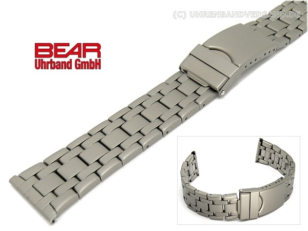 Titan 22mm Von Uhrband Matt Sportliches Design Bear 3AR54cLqSj