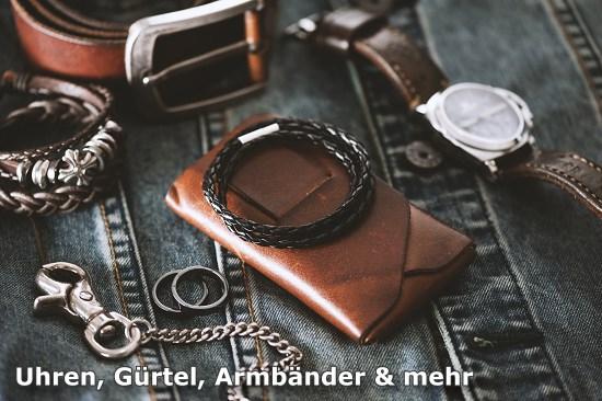 Zubehör Armband Uhren Metallband Edler Stahl Faltschließe Silber 22mm Uhrenarmband Neu