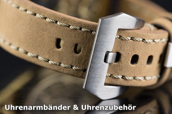 Eulit Canvas Textil Uhrenarmband Modell Canvas Oliv 20 Mm Watches, Parts & Accessories Wristwatch Bands